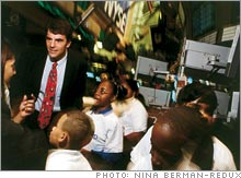 Tim Draper created the BizWorld Foundation to teach business fundamentals to kids from 8 to 13 years old.