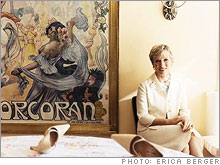 Barbara Corcoran at home in New York City.