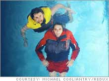 Betz (top) and Lobsinger offer an alternative to conventional life vests.